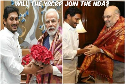 Jagan@@@s Political Maneuver@@@s Fuel Speculation of YSCRP Joining The NDA