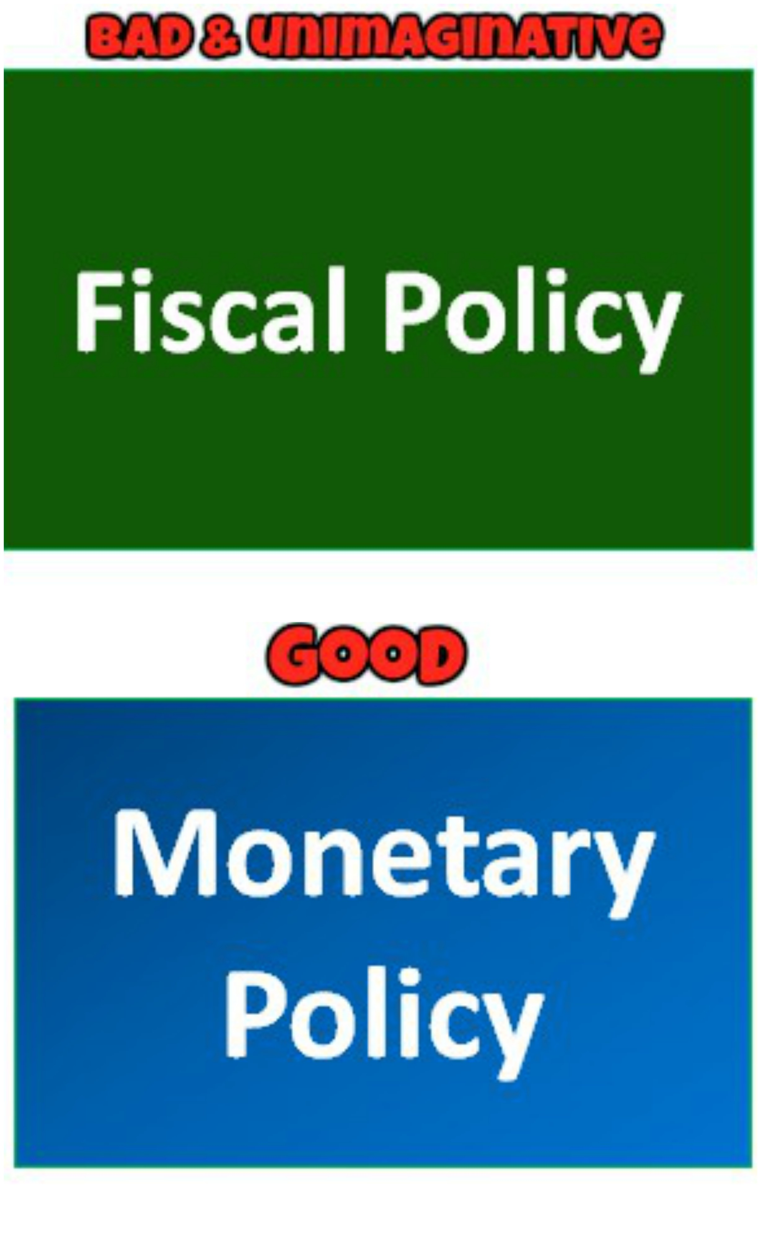 Good Monetary Policy Needs To Be Complemented By Matching Fiscal Policy