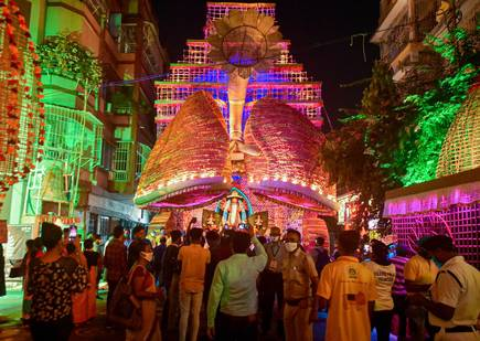 Muted Puja Celebrations After High Court Order