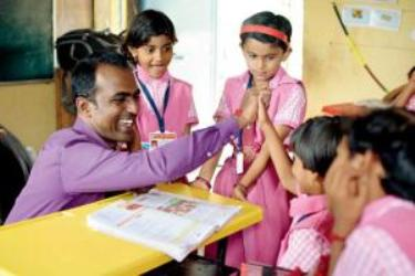 Great News: Indian Teacher Is Best In The World