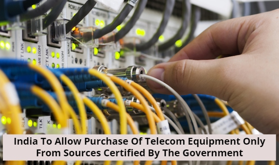 Telecom Equipment From Government Certified Sources Only