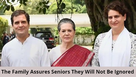 Congress: Family Meets Senior Leaders, Tries To Pacify Them