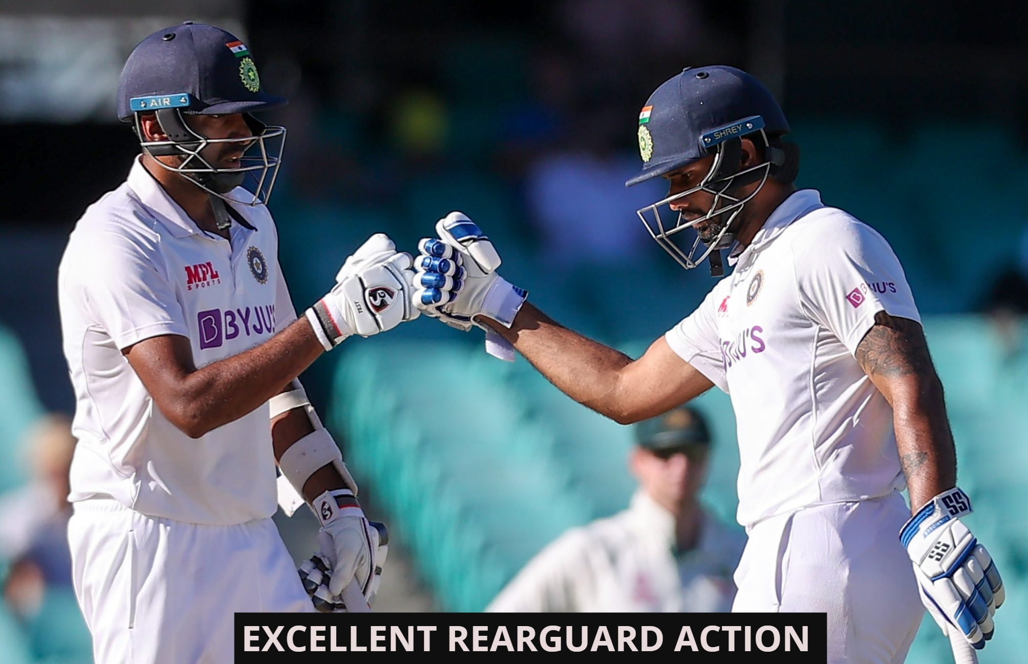 Third Test Drawn: Fine Rearguard Action By India