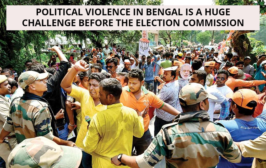 West Bengal: EC Will Be Tested In Holding Peaceful Elections