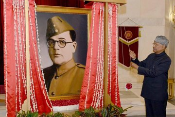 Netaji Portrait: Doubters Have To Eat Their Words