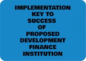 The Proposed New DFI Needs To Remain Focused To Be A Success
