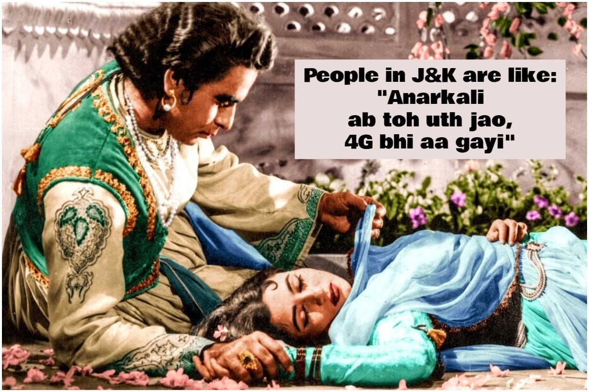 Hilarious Memes Rock Social Media After 4G Comes Back In J&K