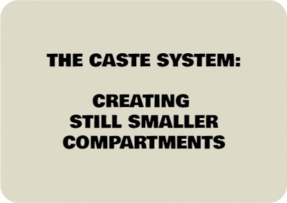The Caste Reality: Hierarchy, Groups, Sub-Groups Ad Infinitum