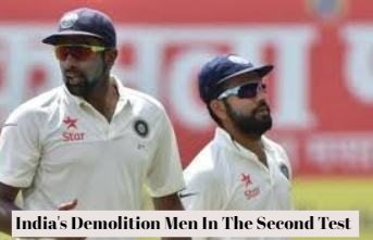 India Demolish England In The Second Test