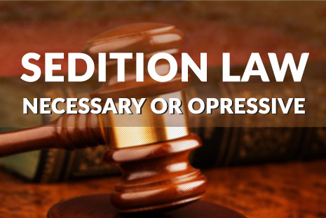 Sedition Laws: A Judge Stands Up To An ###Arrest-Happy### Police Force