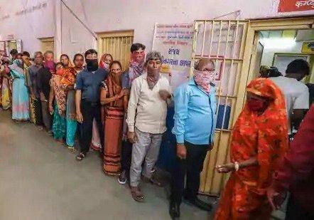 BJP Leads Big In Gujarat Civic Polls