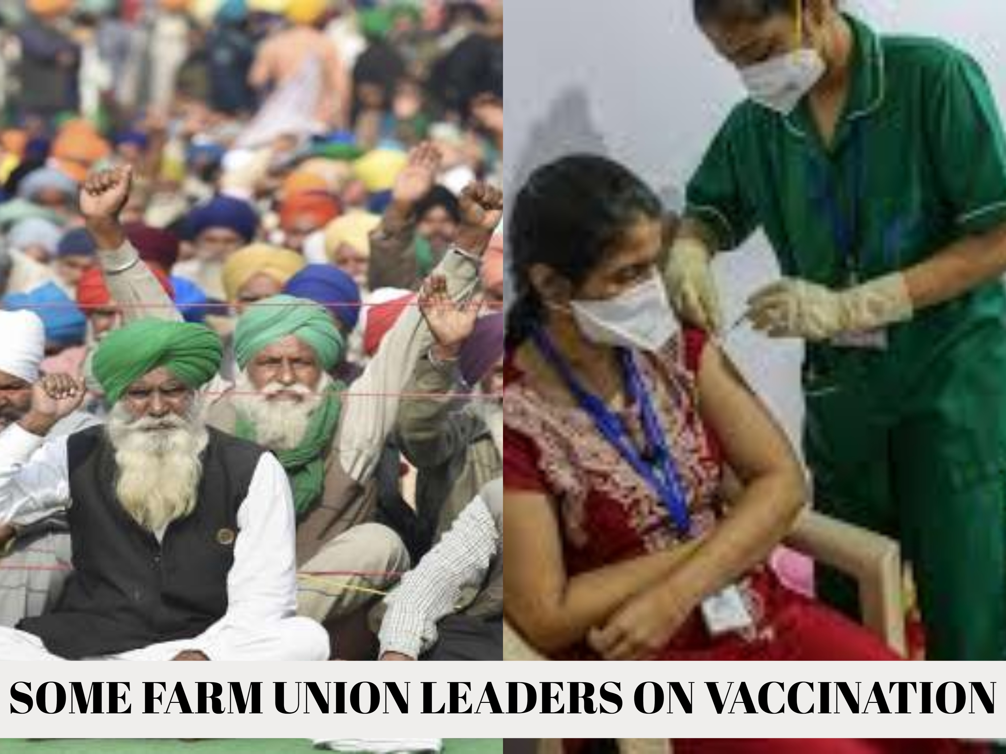 Some Farmers@@@ Leaders Say Not Afraid Of Coronavirus, Will Not Get Vaccinated