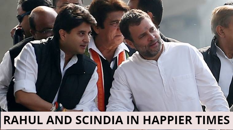 Rahul@@@s Scorn, Scindia@@@s Dignified Reply