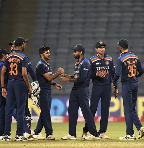 India Impress In 66-Run Win Against England In The First ODI