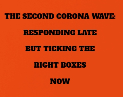 The Second Wave: No Time To Lose
