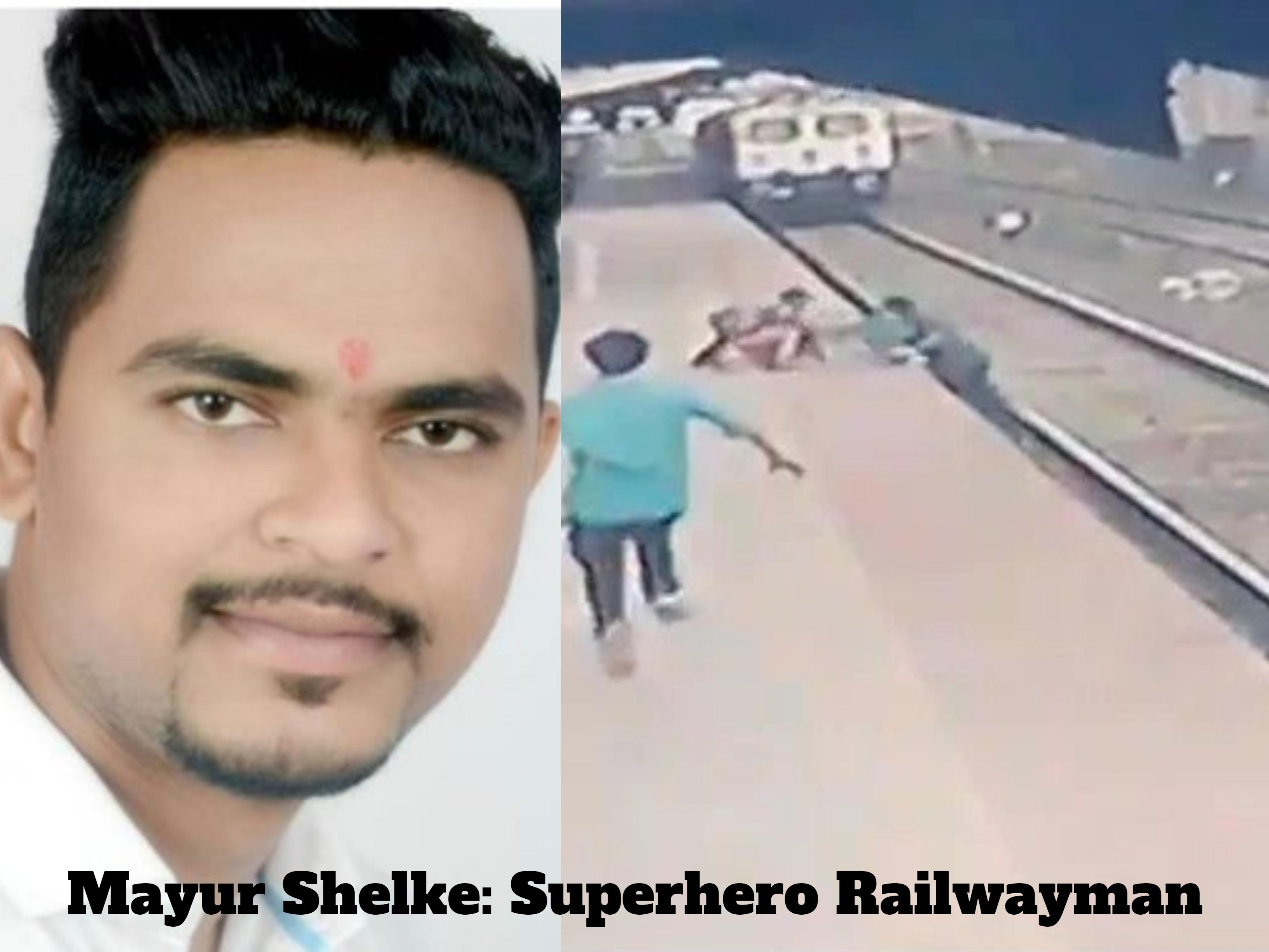 Superhero Railwayman Saves A Child