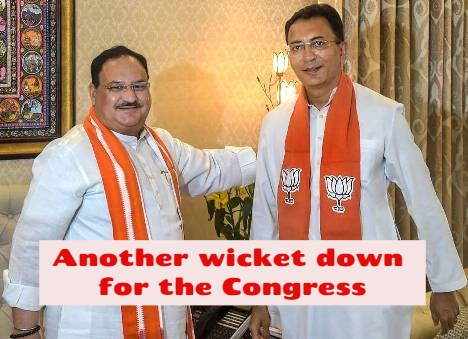 Congress Loses Jitin Prasada To The BJP