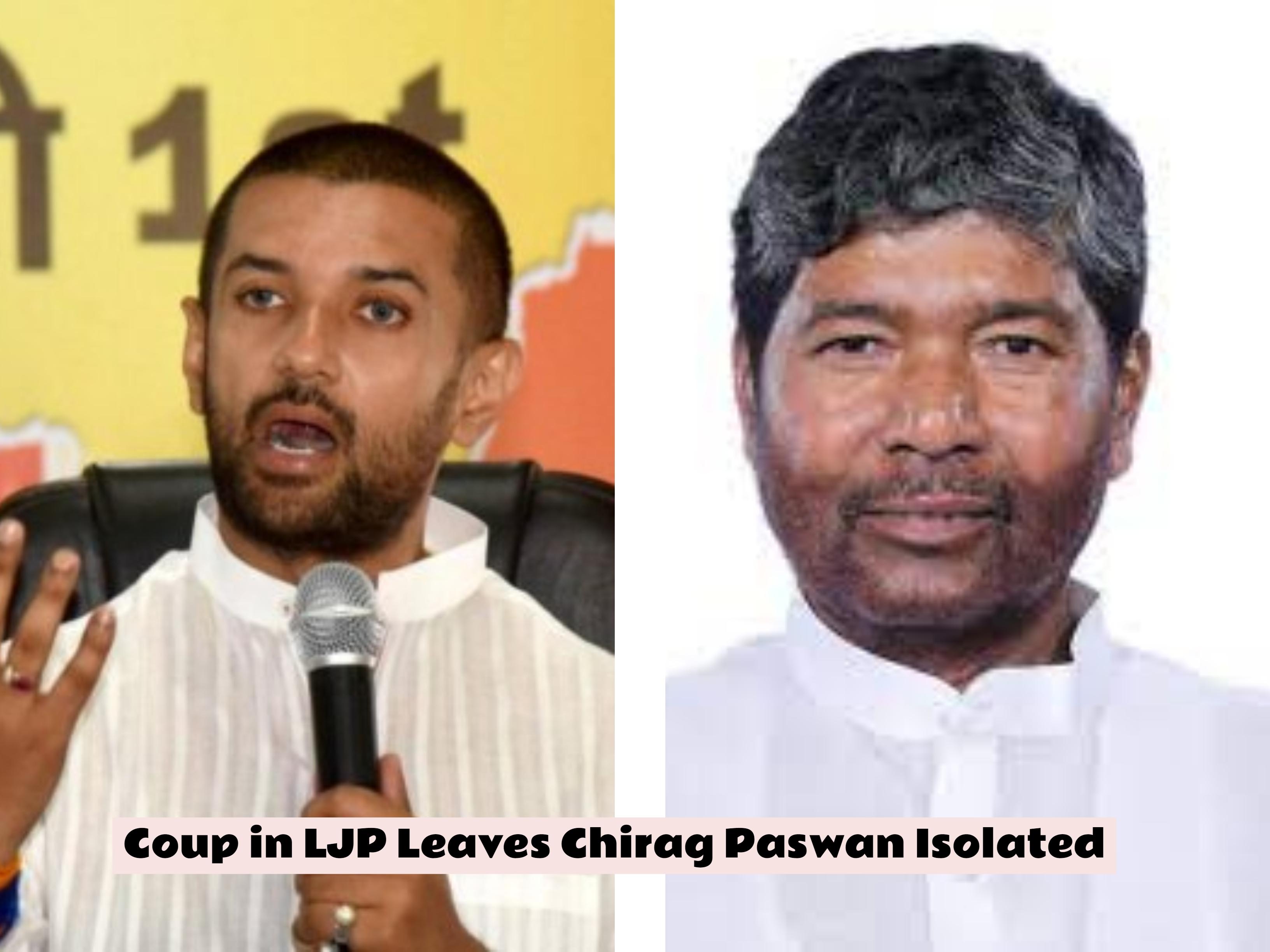 Nitish Kumar Strikes Back At Chirag Paswan
