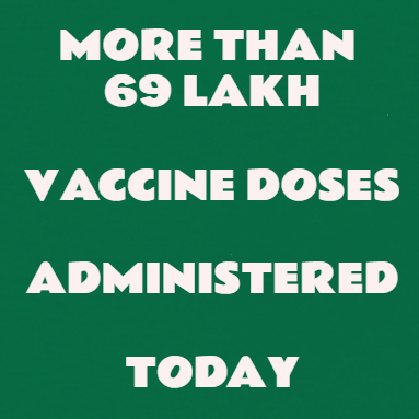 Vaccination Drive Gains Huge Momentum