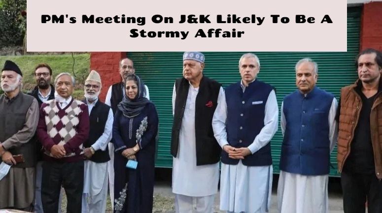 PM@@@s Meet On J&K: Gupkar Parties Firm On Articles 370 And 35A