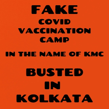 Man Held For Using KMC Name For Organizing Fake Covid Vax Camps