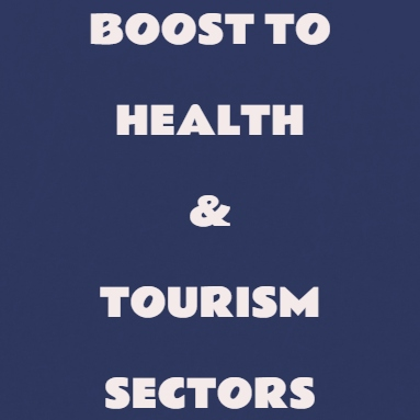 Booster Dose For Health & Tourism