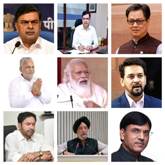 A New Set Of Ministers To Tackle The Serious Problems Facing The Nation