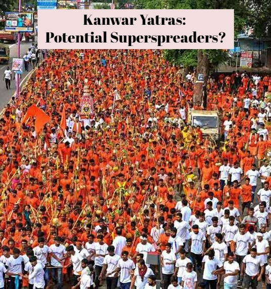 Symbolic Kanwar Yatra Would Be Best In The Time Of The Pandemic