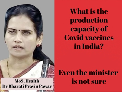 What Is The Actual Vaccine Production Capacity In India?