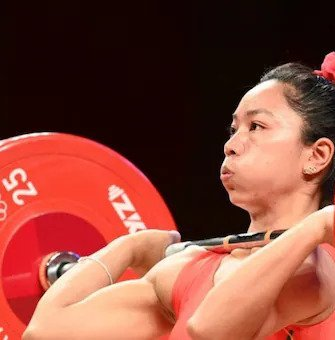 Mirabai Chanu Bags Silver In Weightlifting