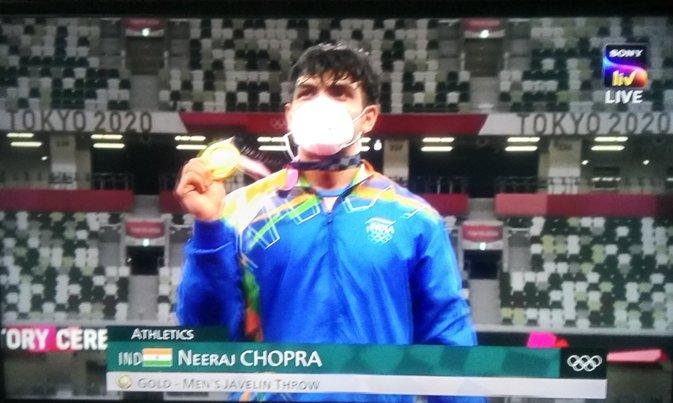 Neeraj Chopra Does It