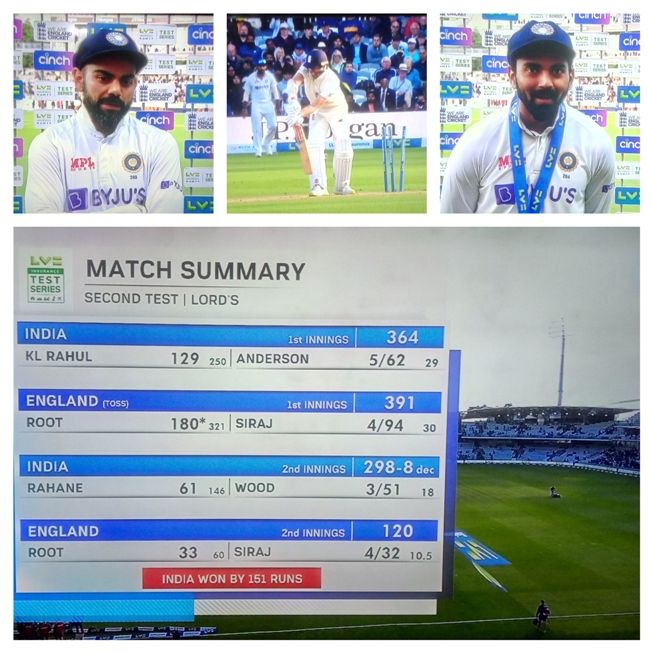 India Win The Lord@@@s Test In Style