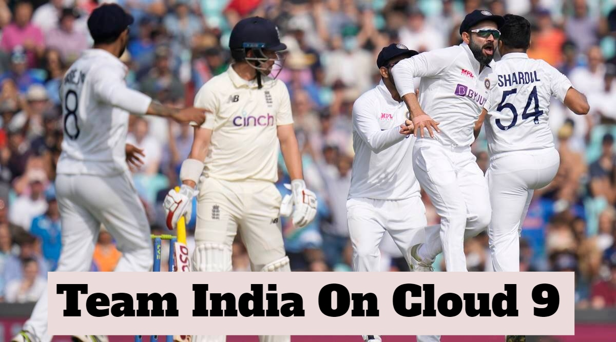 Brilliant Team India Win At The Oval