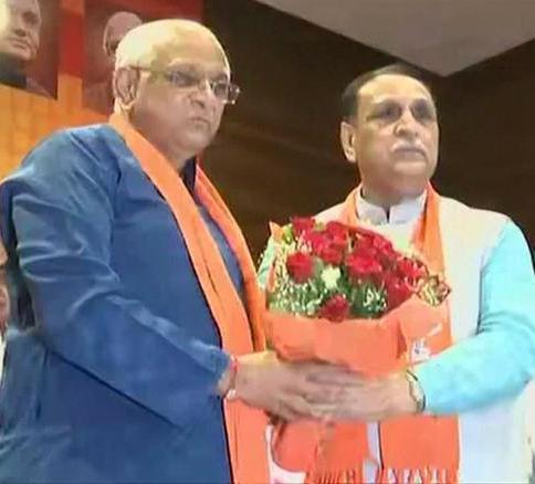 BJP Springs Double Surprise In Gujarat