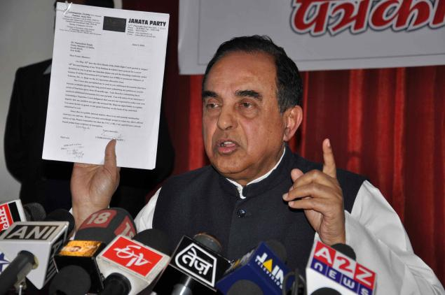 Subramanian Swamy Falls Prey to Regionalism