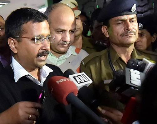 Kejriwal's Mantra: Dharnas for Me, Not for Aam Aadmi