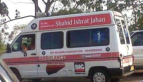 Branding Ishrat Jahan