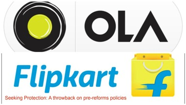 Protection: Ola & Flipkart Want Government Help to Ward Off Competition