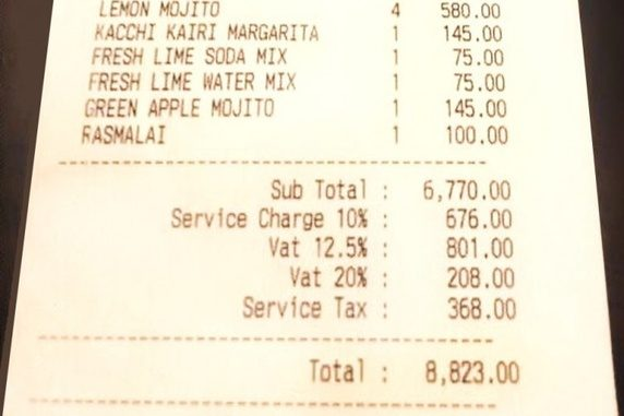 Why Service Charge for Bad Service?