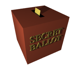 Trust Votes Should Always be Through Secret Ballot