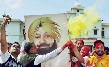 Punjab: Captain Brushes Aside Kejriwal, Badal