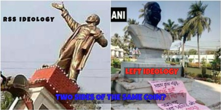 Desecration of Statues and The Left
