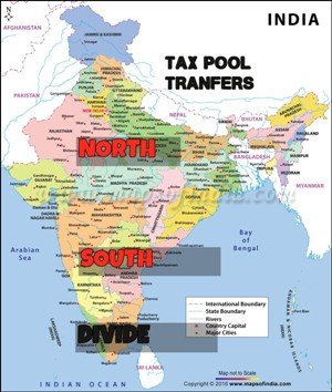 North-South Divide: Transfer From Tax Pool Needs New Method Of Calculation