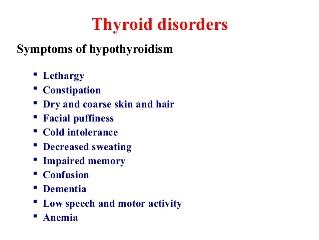 These Symptoms Are Pointers To Low Levels of Thyroid Hormone