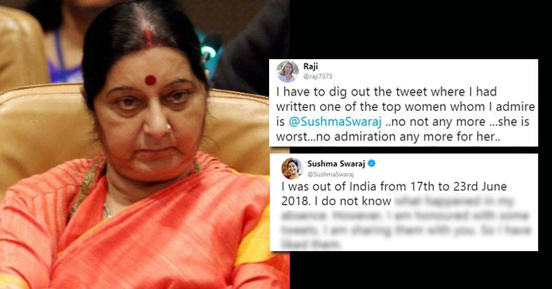 Sushma Swaraj Trolled: Time To Act Against This Vile Army