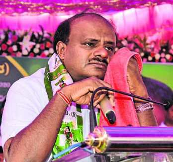 Karnataka: HDK In Tears, Coalition Not Working
