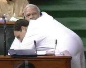 Who Told Rahul This Is A Hug?