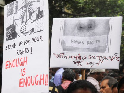 UN Report Highlights Repression Of Activists In India