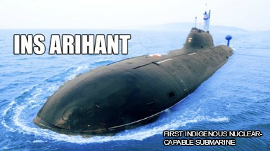 INS Arihant Increases India's Deterrence Capacity