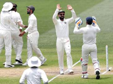 India Win At Adelaide, Eye Series Win